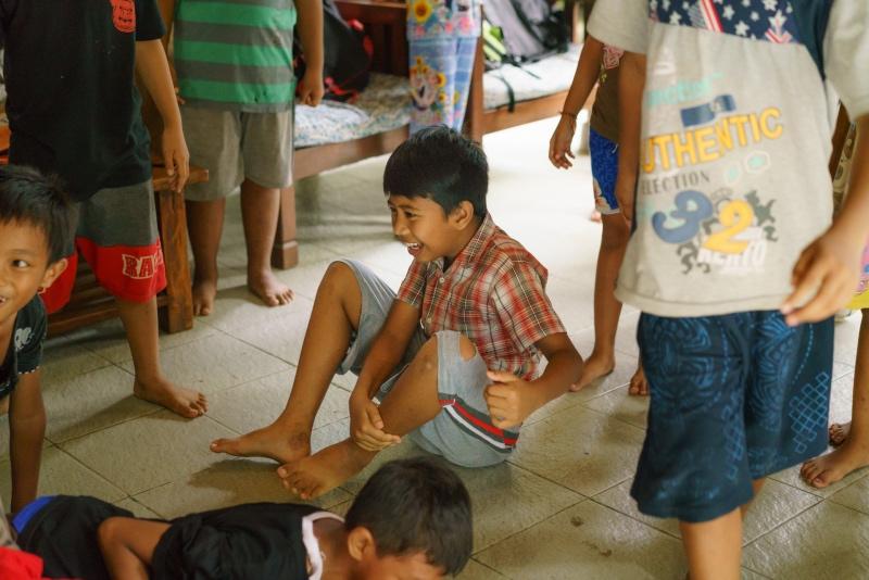 trip-drop en Bali: una tarde muy divertida y llena de risas