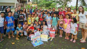 trip-drop en Bali: foto de familia