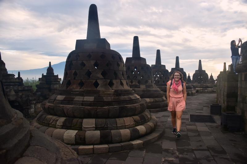 Seguro de viajes para Indonesia: Borobudur