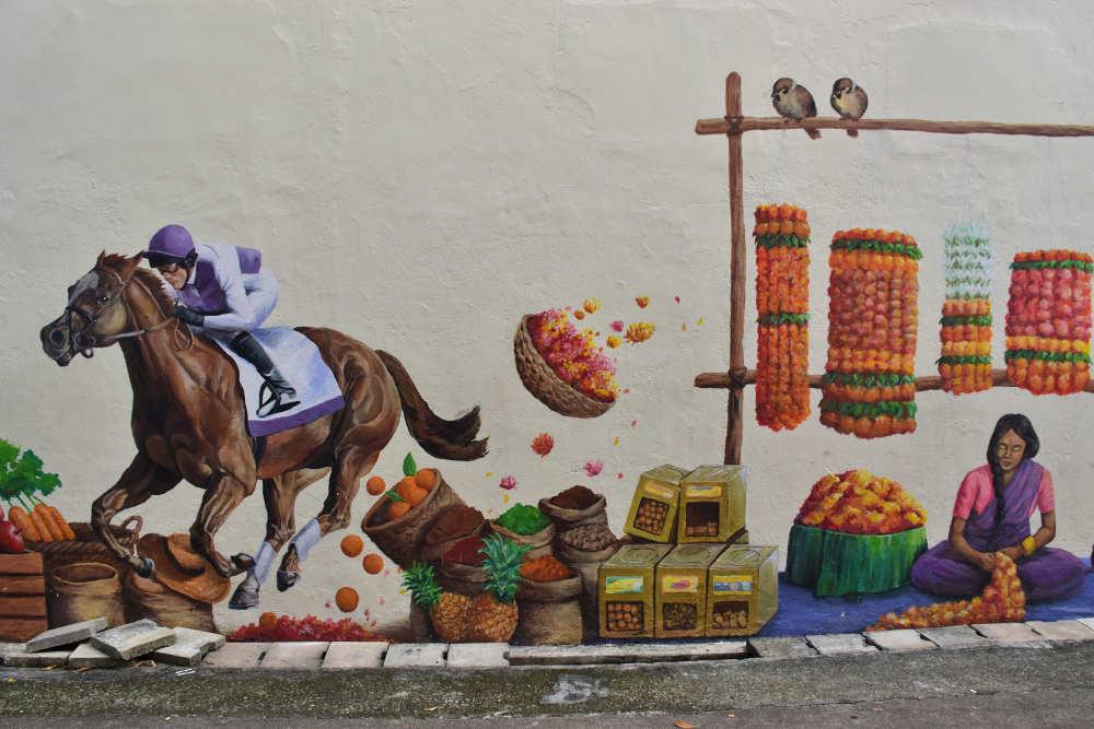 Tour graffittis por Singapur