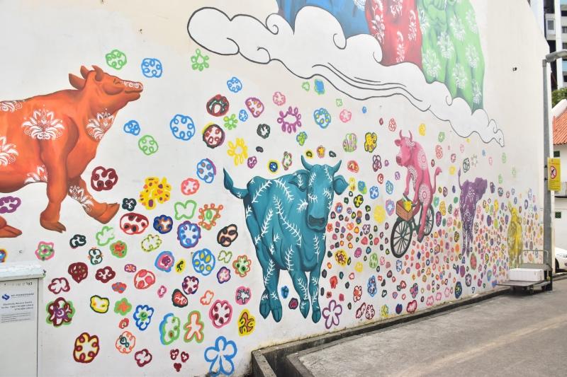 Tour de graffiti en Singapur