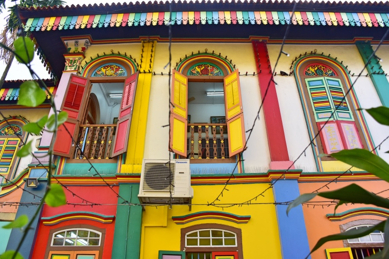 La casa de Tan Teng Niah en Little India, Singapur