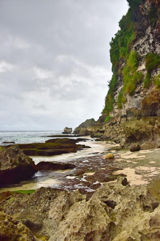 Ruta por el sur de Bali: los acantilados de Blue Point Beach