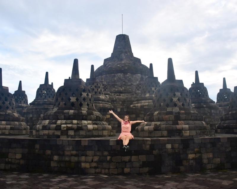 Ruta por Indonesia en 20 días: Borobudur
