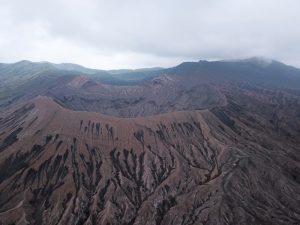 Parque Nacional del Bromo: monte Bromo a vista de dron