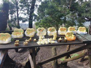 cómo llegar al volcán ijen por libre: souvenirs hechos de azufre