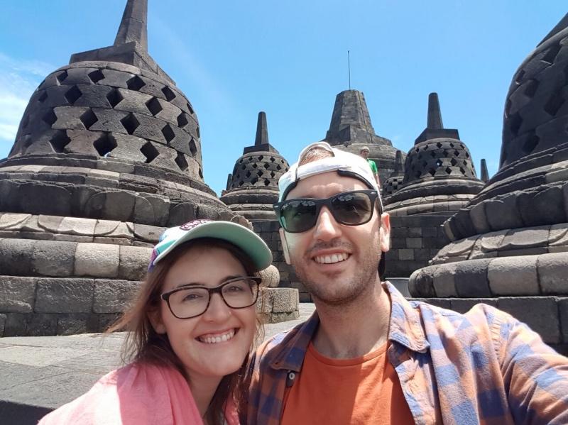 Borobudur de día