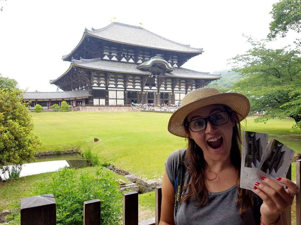 entradas templo Japón