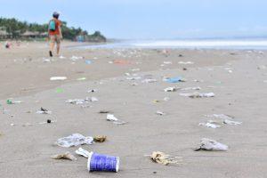viajar sin plástico por el Sudeste Asiático: playa de bali