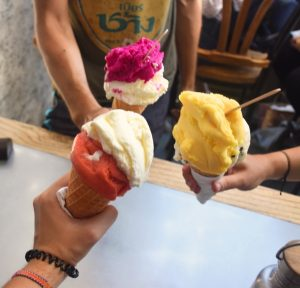 Qué hacer en Yogyakarta en 2 días: helados en el Tempo del Gelato