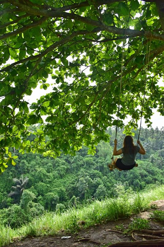 Cosas que hacer en Bali: columpiarse