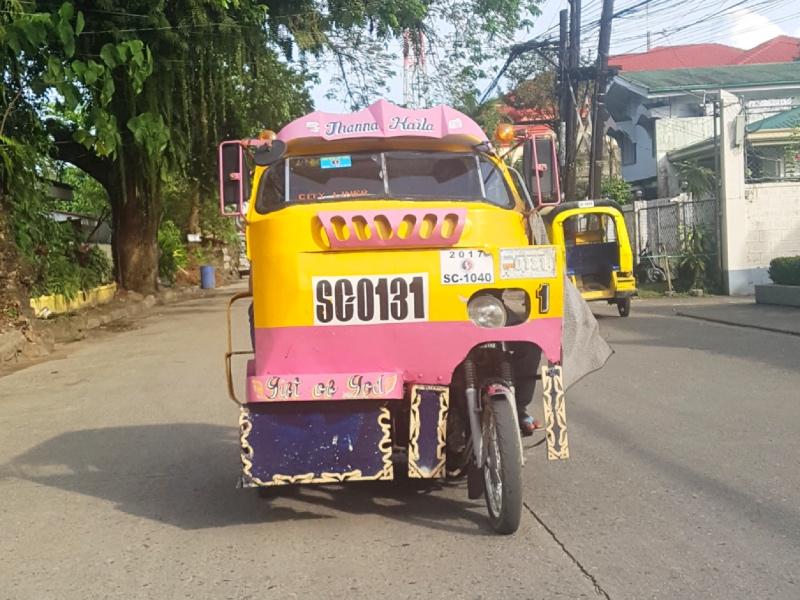 presupuesto filipinas triciclo