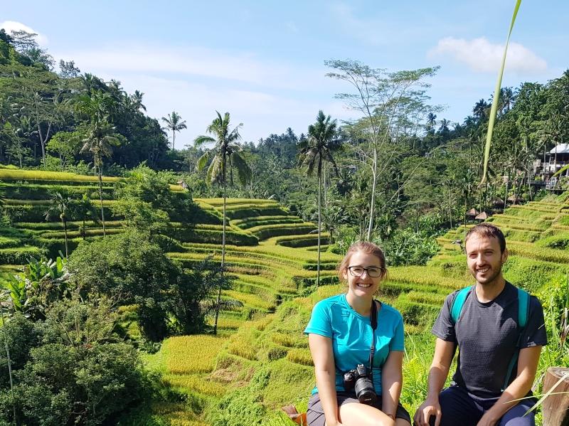 Cosas que hacer en Bali: pasear entre terrazas de arroz