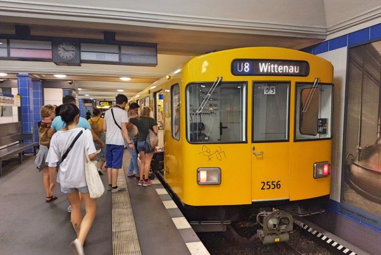 Cómo moverse por Berlín en transporte público: metro de Berlín