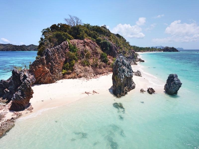 islas que visitar en Filipinas: isla de Malcapuya en Corón