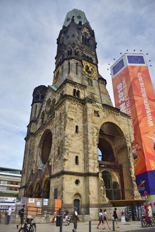 Cosas que hacer gratis en Berlín: visitar la iglesia en ruinas de Kaiser Wilhem