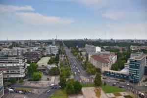 Los mejores miradores de Berlín: desde la cafetería de la Universidad