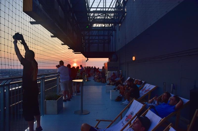 Los mejores miradores de Berlín: terraza del Park Inn