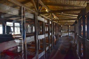 visita al campo de concentración de Sachsenhausen: habitaciones compartidas