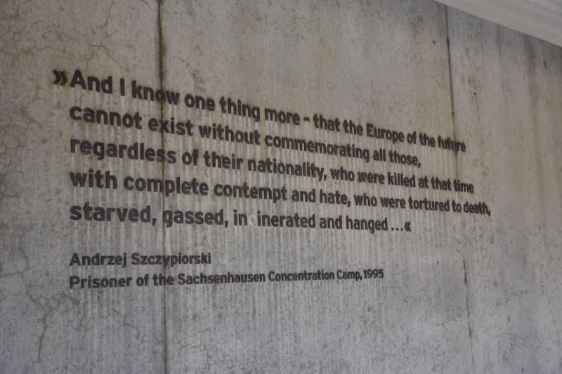 Visitar el campo de concentración de sachsenhausen: texto de un prisionero de Sachsenhausen