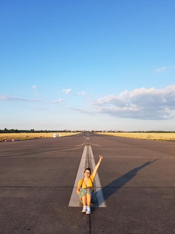 Cosas que hacer gratis en Berlín: sentada en el Tempelhofer Field