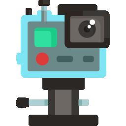 cámara acción vídeos Croacia