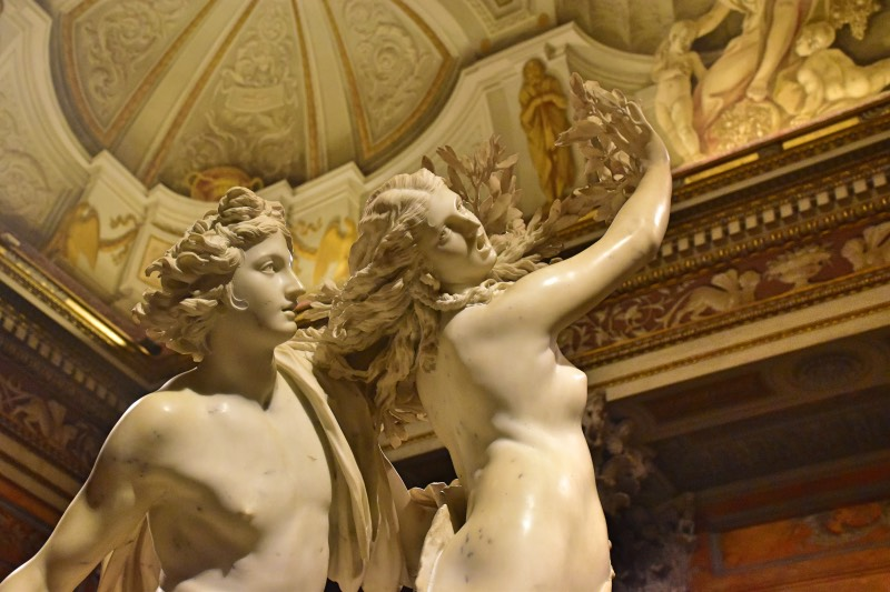 Apolo y Dafne, de Bernini