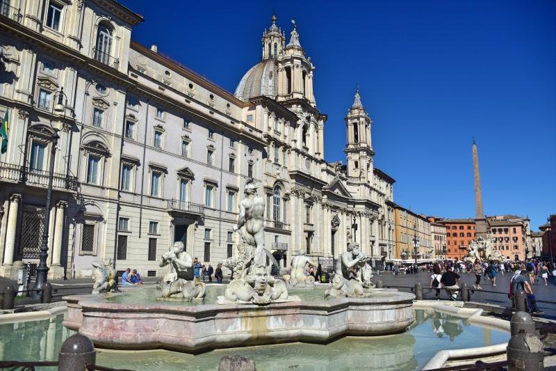 Preparativos para viajar a Roma: Piazza Navona