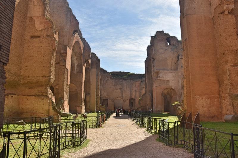 Qué hacer en Roma: visitar las Termas de Caracalla