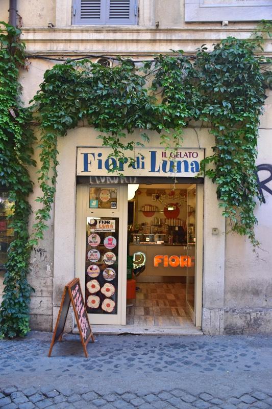 Roma en 4 días: heladería fiordiluna