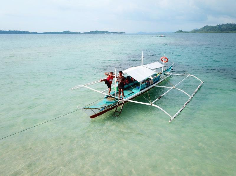 Qué hacer en Port Barton: island hopping