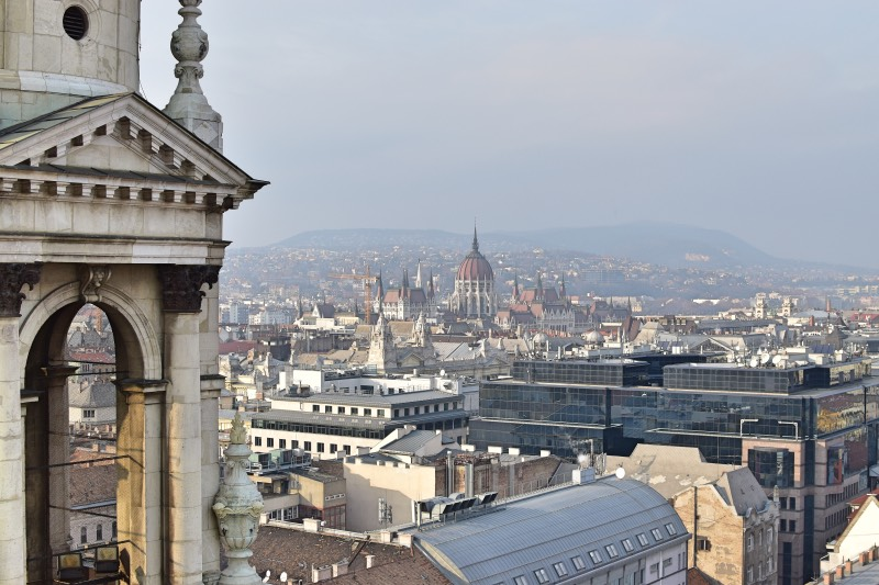 Vista desde la terraza de la cúpula de la Basílica