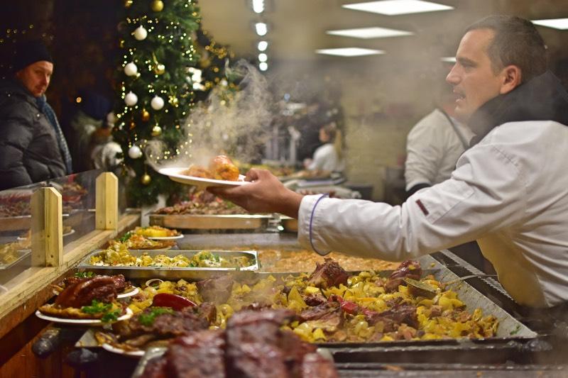 Dónde comer en Budapest bien y barato: mercadillos navideños