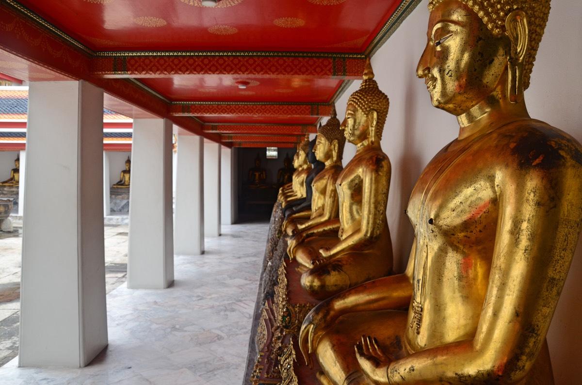 Claustro Phra Rabieng, en el Wat Pho