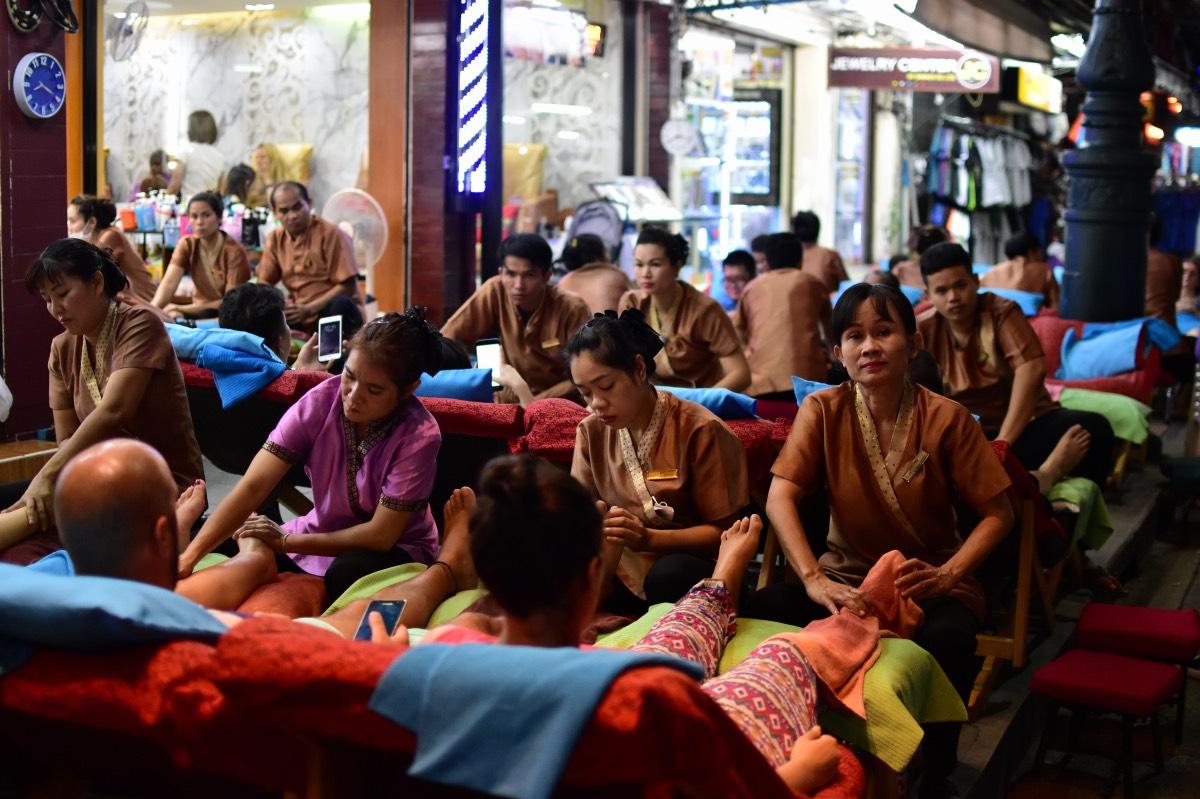 Qué hacer en Bangkok: darse un masaje