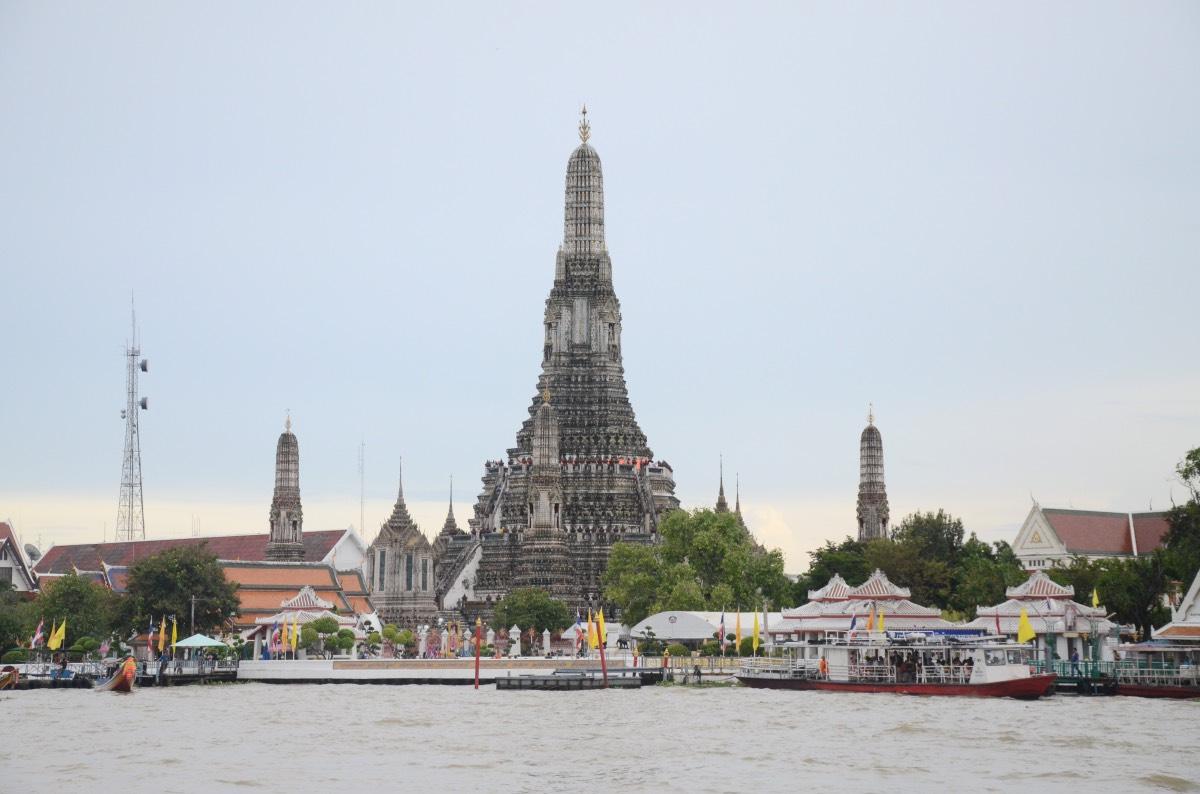 Qué hacer en Bangkok: visitar el Wat Arun