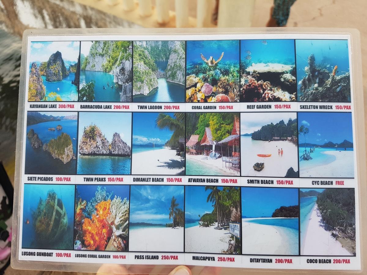 qué ver en Coron: tasas turísticas