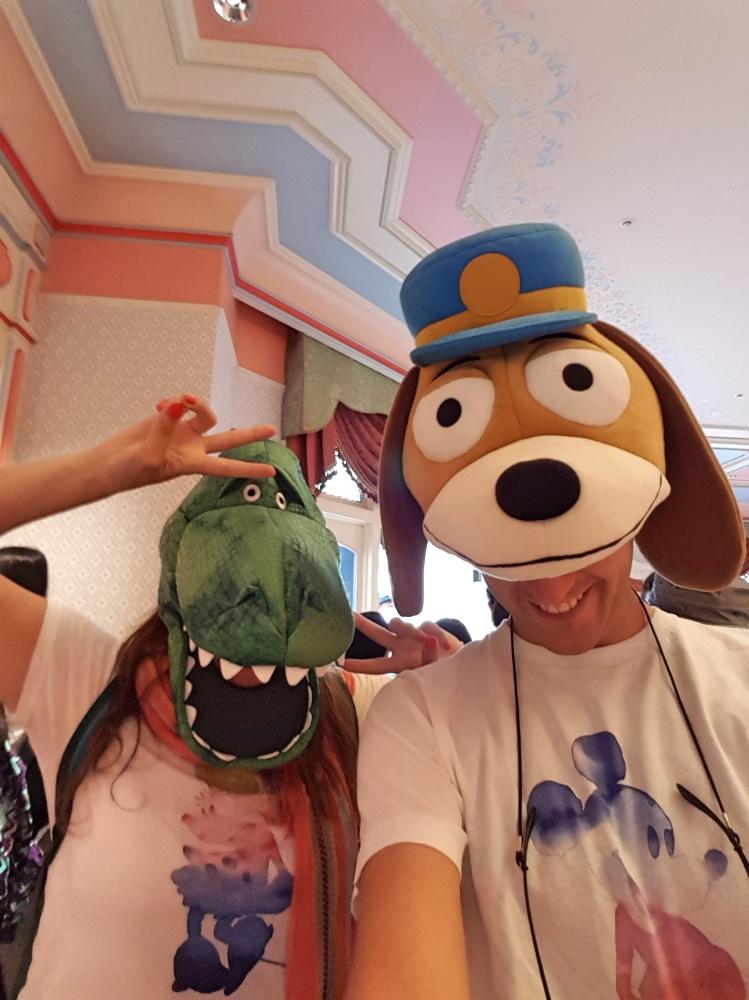 Disfrazados en Disneyland Tokio