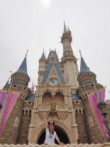 El famoso castillo de Disney, un clásico en Disneyland Tokio