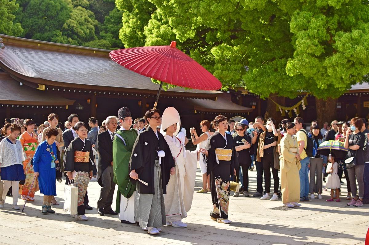 Qué hacer en Japón: ver una ceremonia tradicional en el Santuario Meiji