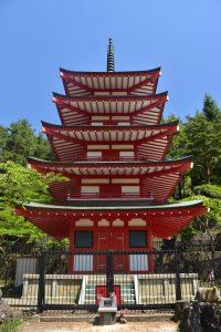 Qué hacer en Kawaguchiko en un día: pagoda chureito