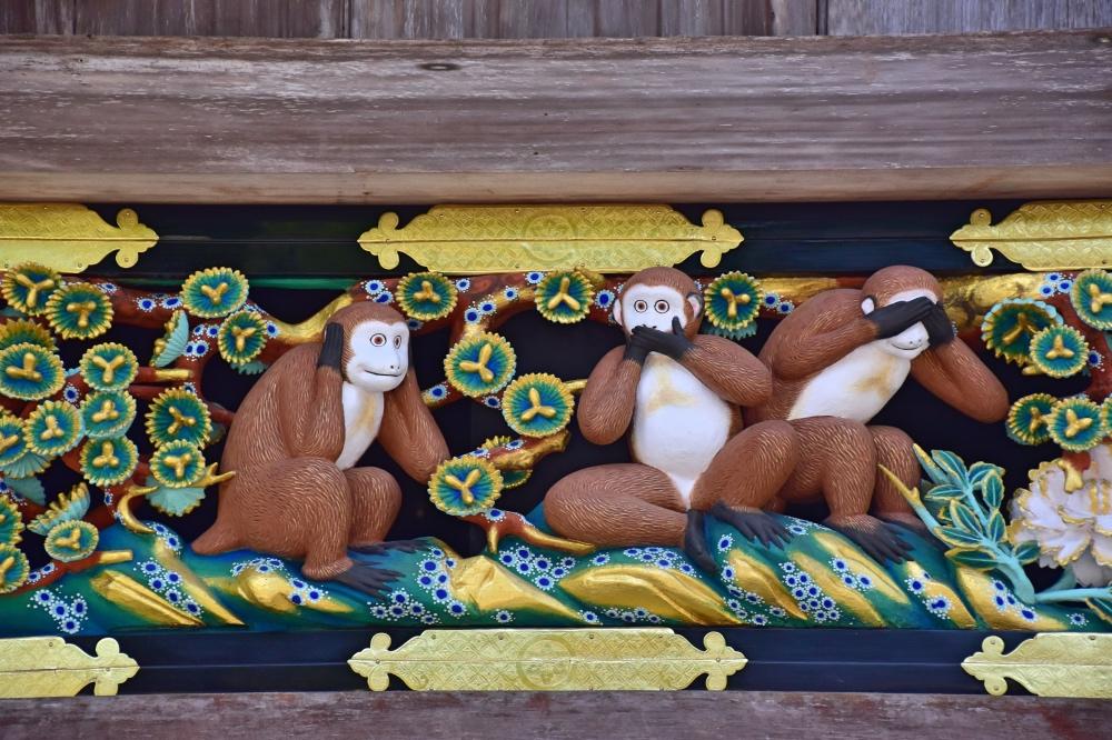 Qué hacer en Nikko: los tres monos sabios