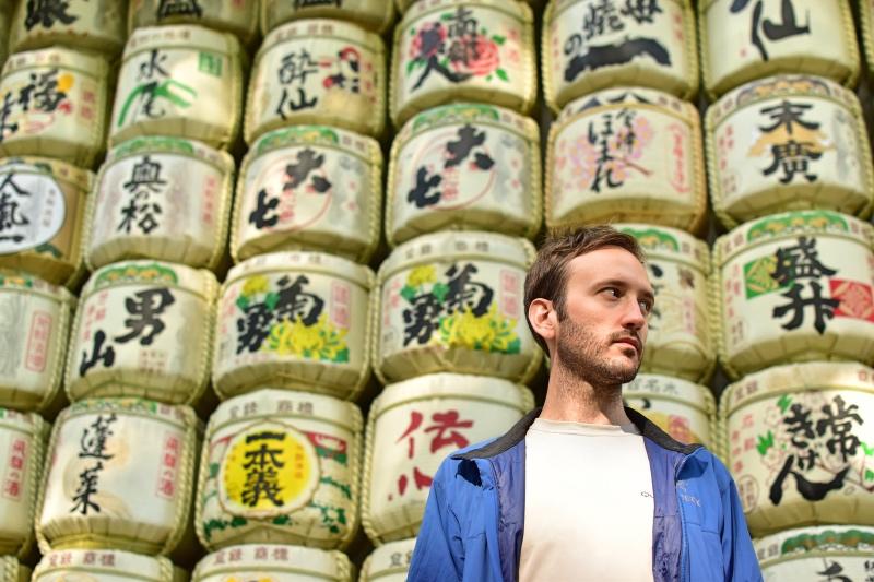 Los mejores templos de Tokio: barriles de sake en el Santuario Meiji