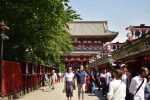 Qué hacer en Tokio: pasear por la calle Nakamise