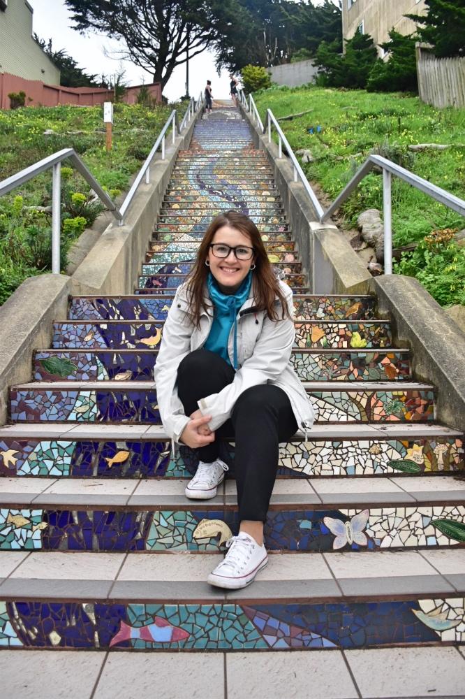 Que hacer en San Francisco: Moraga steps
