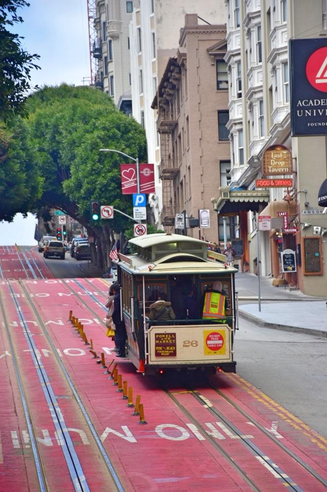 Cómo moverse por San Francisco en transporte público