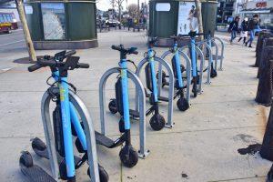 Cómo moverse por San Francisco en transporte público: patinetes en San Francisco