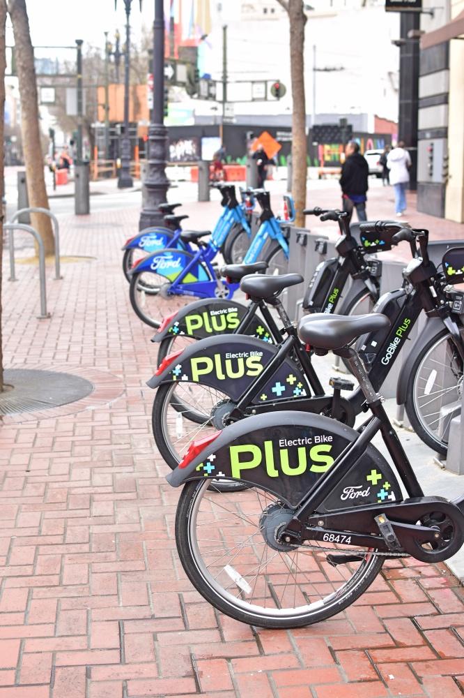 Cómo moverse por San Francisco en transporte público: bicicletas públicas