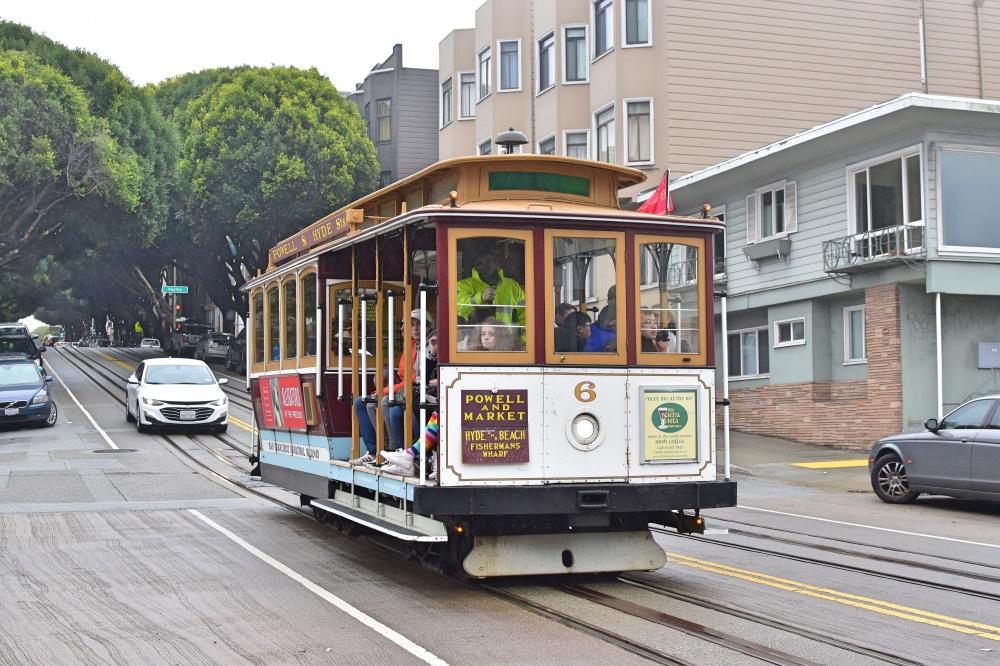Cómo moverse por San Francisco en transporte público: cable car