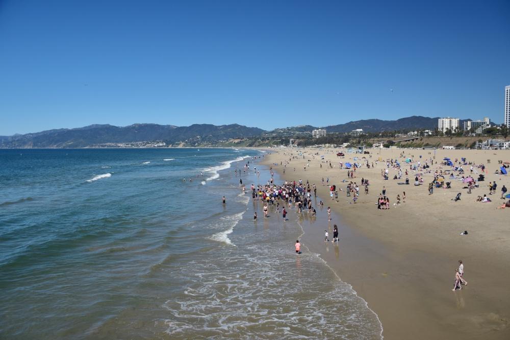 California en 18 días: la playa de Santa Mónica
